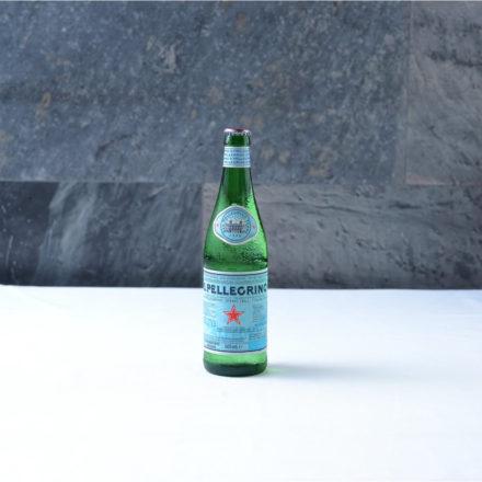 Botella agua Pellegrino 0,5l
